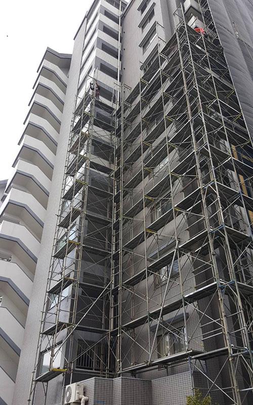 邦徳建設株式会社の大規模修繕工事
