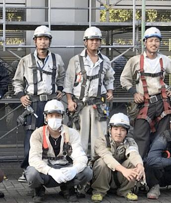 上野架設工業で働く