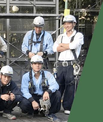 上野架設工業で働く職人