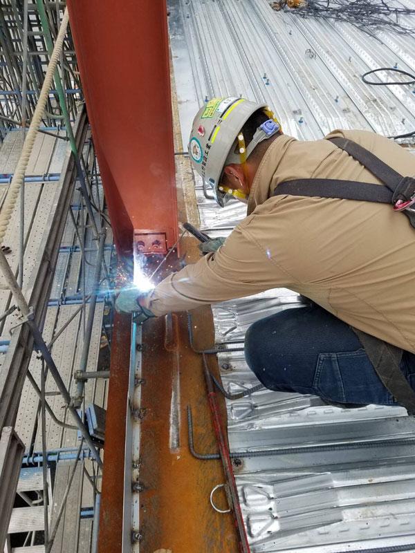邦徳建設株式会社の鍛冶工事