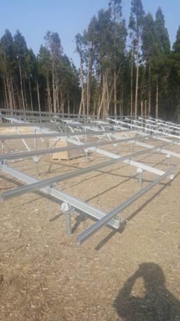 宮城県にて太陽光パネル工事開始